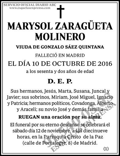 Marysol Zagüeta Molinero
